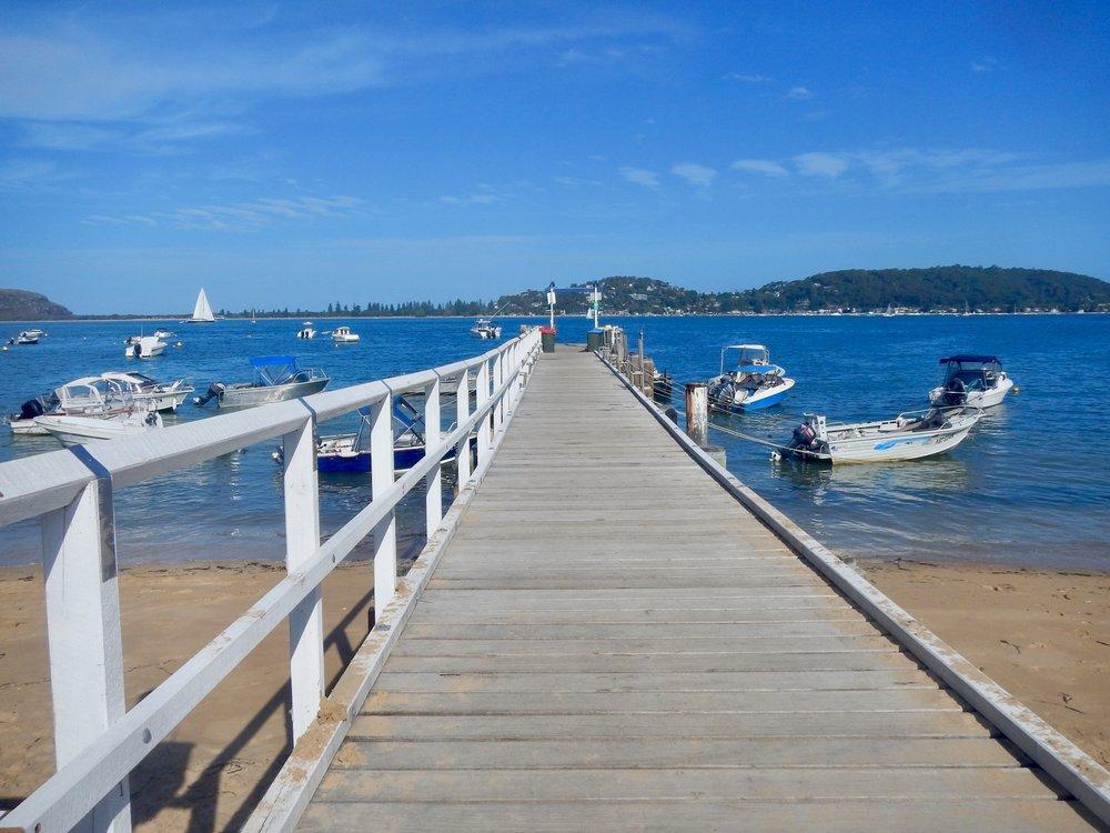 Jetty at Great Mackerel Beach, Sydney, New South Wales