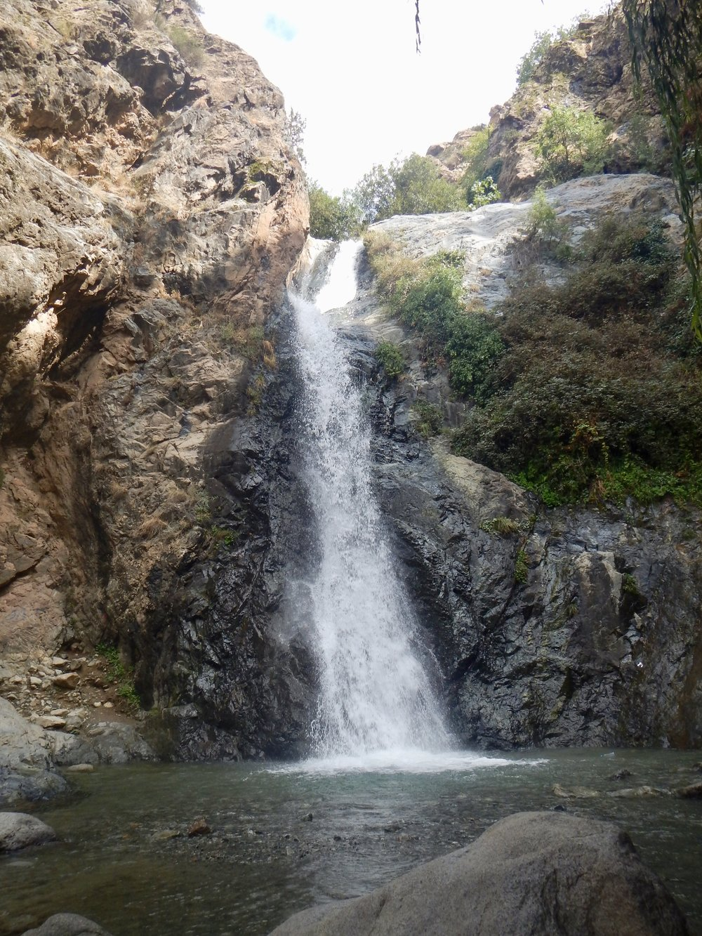 Waterfall near Ouzoud Falls, Marrackech, Morocco