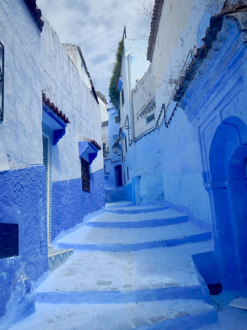 Chefchaouen's blue streets, Morocco