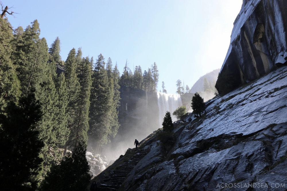 Vernal Falls, Mist Trail