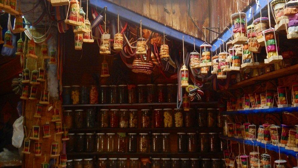 Shop in Chefchaouen, Morocco, @acrosslandsea