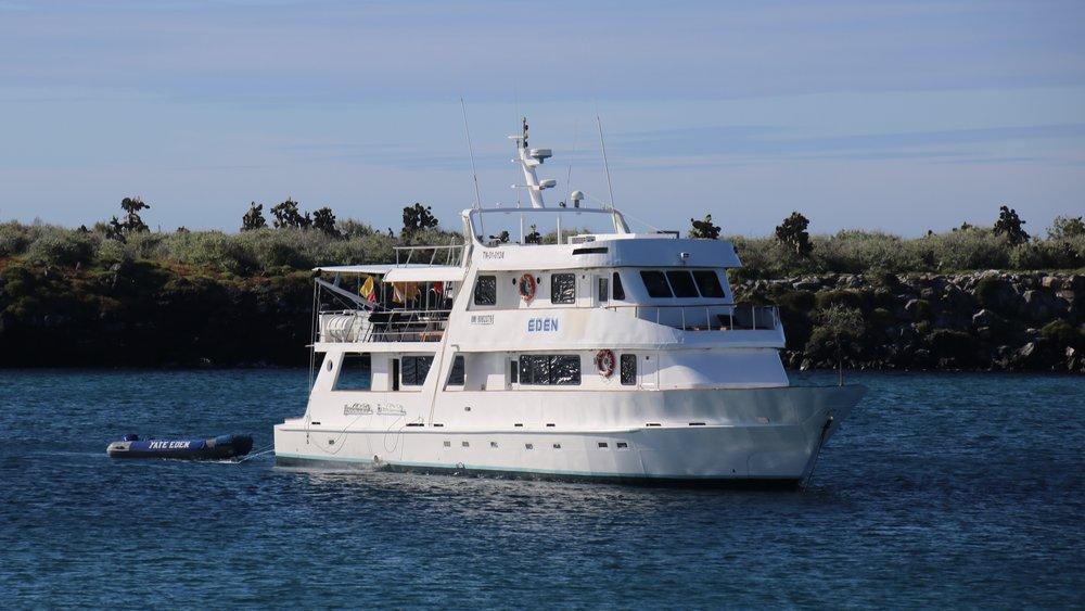 Eden yacht, Galapagos Islands, Ecuador, @acrosslandsea
