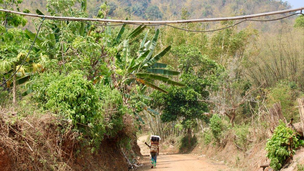 Mr Bike trek in Shan State near Hsipaw, Myanmar @acrosslandsea