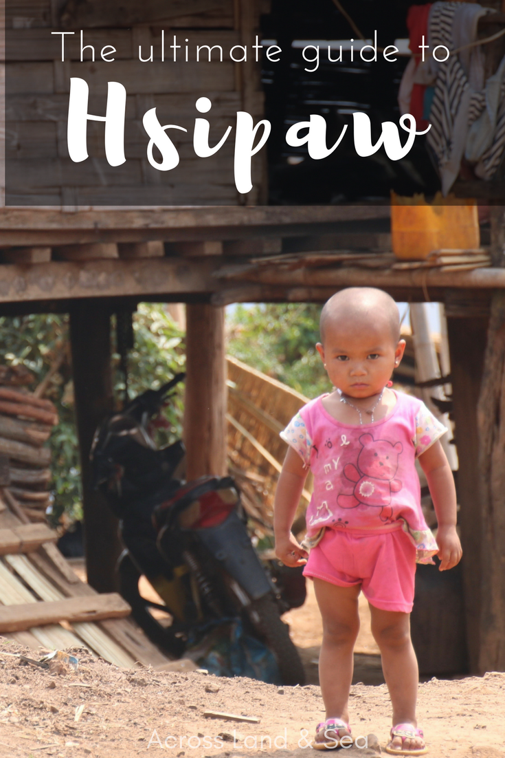 Girl in Shan village near Hsipaw. Ultimate guide to Hsipaw. @acrosslandsea