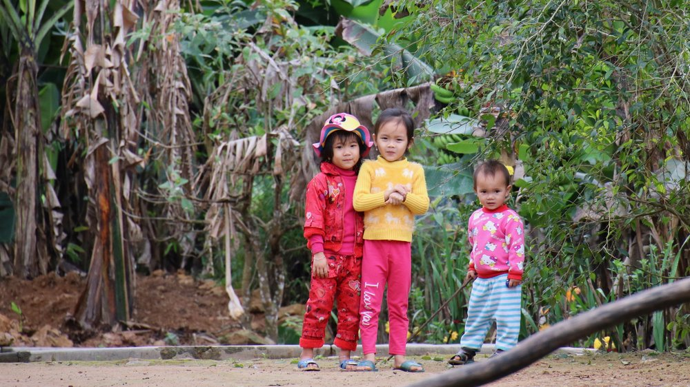 Why I love Phong Nha - local children