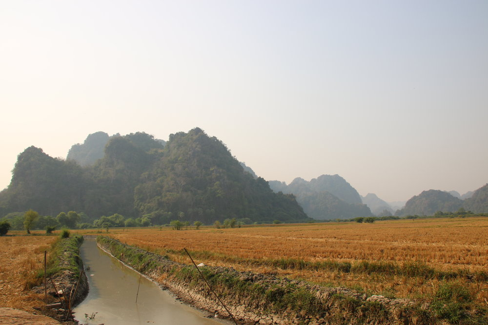 Our definitive guide to Hpa-an, Myanmar. River and moutains
