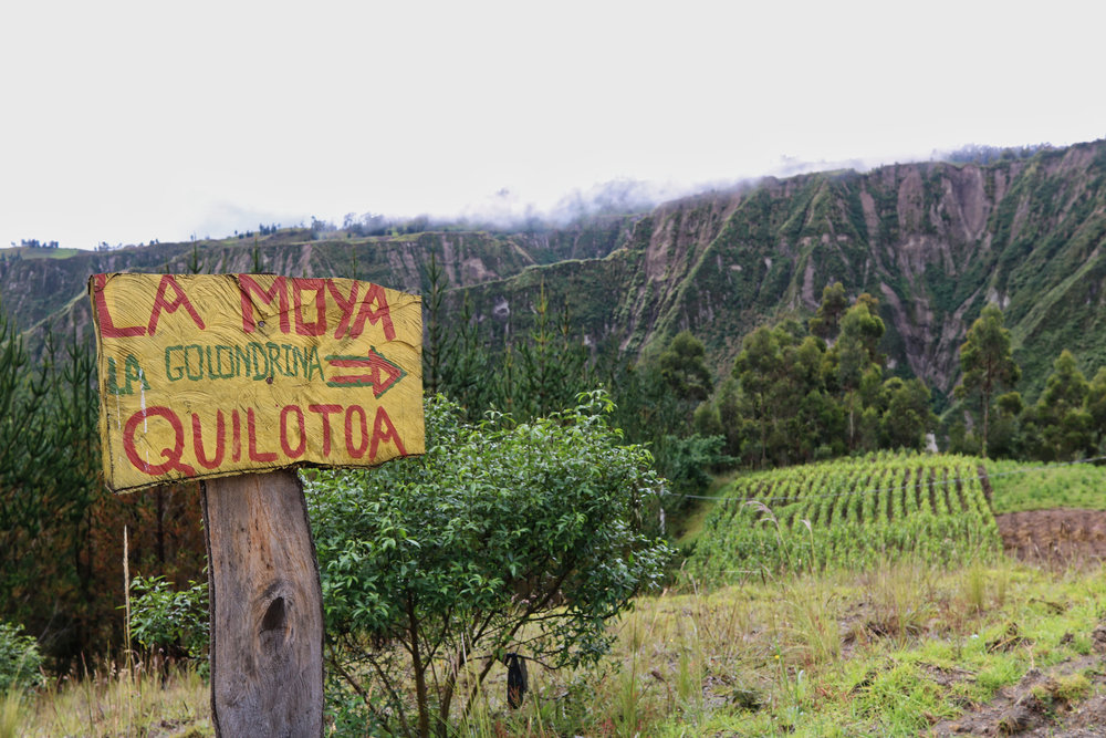 Hiking the Quilotoa Loop. Walking Directions. Across Land & Sea