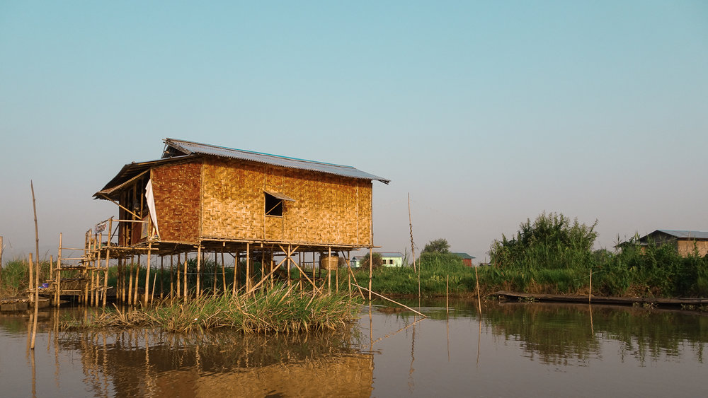 Stilt house, Inle Lake, Myanmar