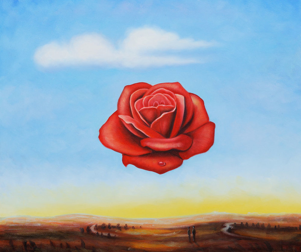 The Meditative Rose by Salvador Dali OSA388.jpg