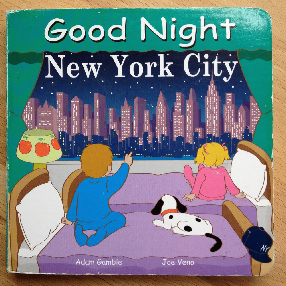 "At some point, I'll have to explain to my son why we don't have the same view when we say ""Good Night New York City""."