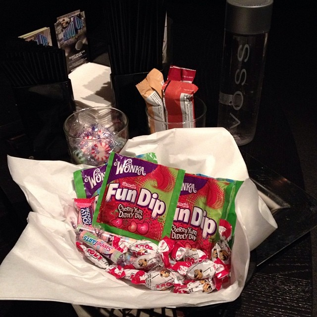 In the 80's, a powdery treat in the comedy club green room was not nearly as tasty. #WeGoHard