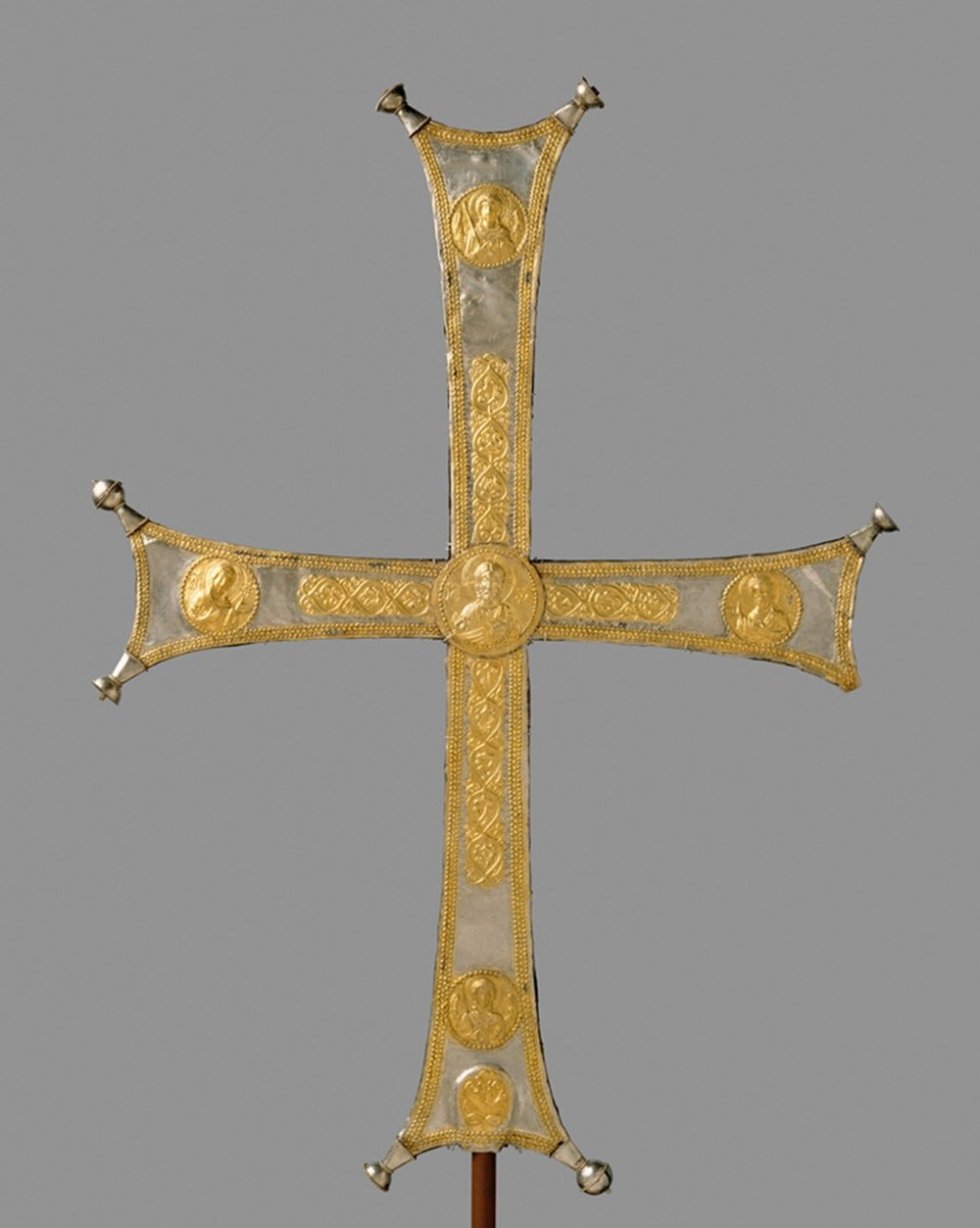 Byzantine cross, from the Met Museum's Heavenly Bodies exhibit.