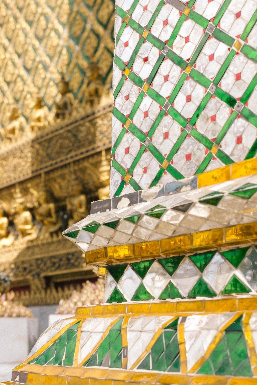 Tiled column