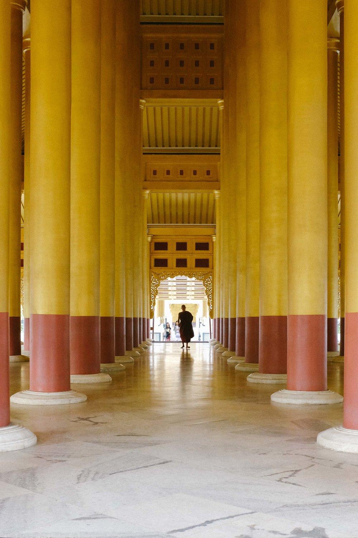 Sandamuni Pagoda hall
