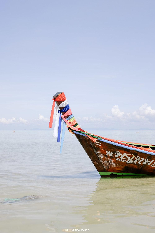 Koh Ngai longtail boat