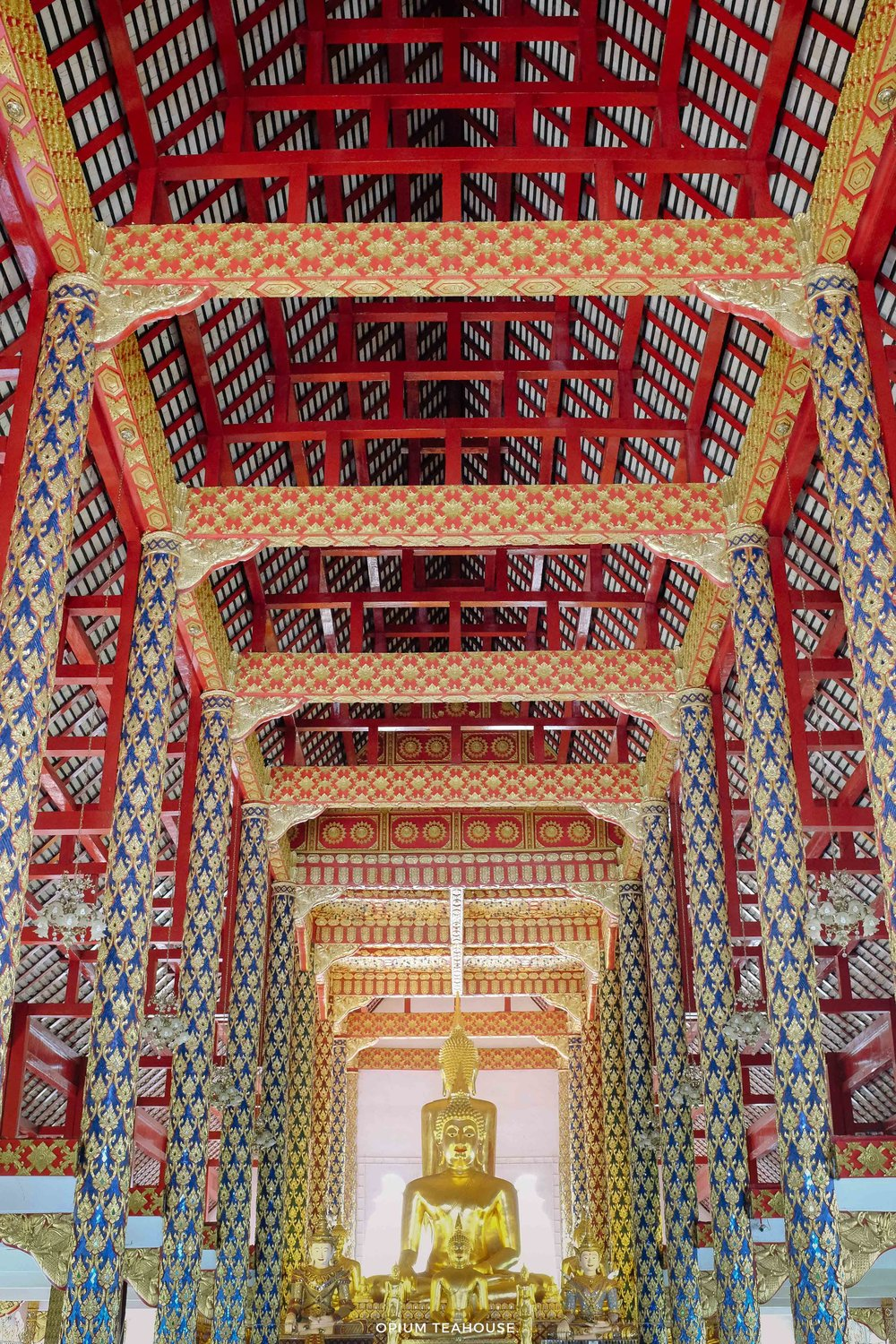 Wat Suan Dok main hall
