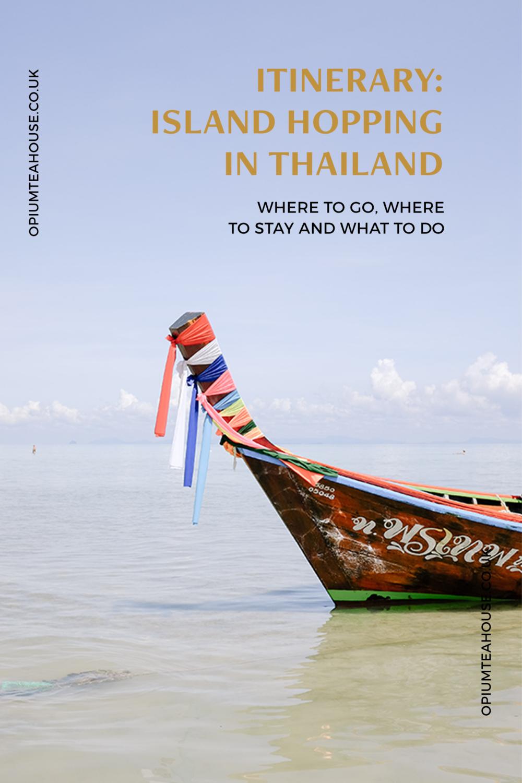 Thai Islands Itinerary —OTH