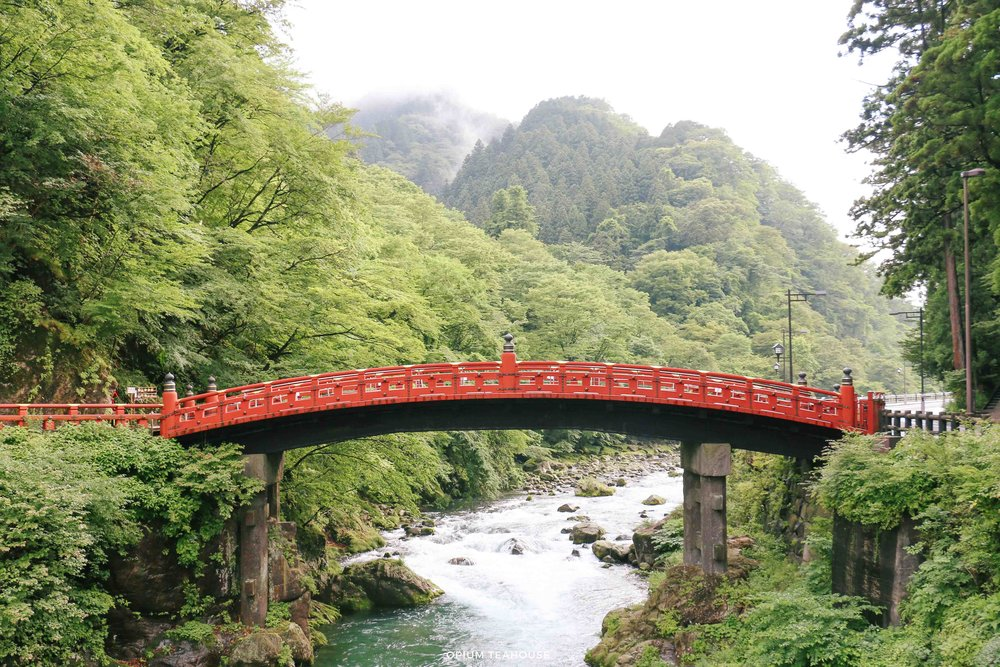 Shinkyo Bridge Nikko Japan  OTH