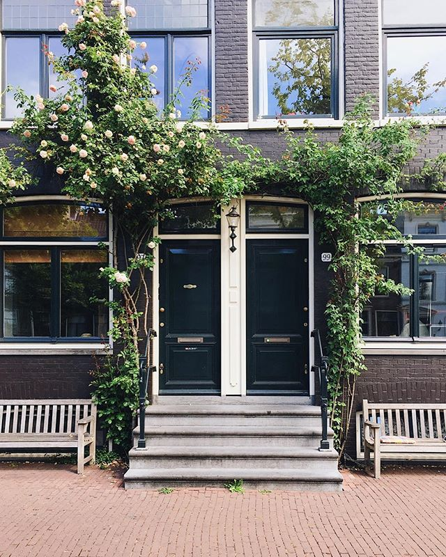 Pretty little houses of Amsterdam 🌿⠀ ⠀ I love cycling in The Netherlands, it's the perfect way to see a city. Yesterday I cycled from the southern part of town all the way up to the northern area in less than 30 minutes. The only problem is that, being Amsterdam a ridiculously photogenic city, I need to stop every 2 minutes to snap a photo 😂⠀ ⠀ ❈ ⠀ ⠀ #opiumteahouse #amsterdam #visitholland⠀ ⠀ ❈ ⠀ ⠀ #welltravelled #mytinyatlas #passionpassport #thisisholland #stayandwander #wonderful_places #theconstantlycurious #roamtravels #topamsterdamphoto #passionpassport #theglobewanderer #travelblogger #thenetherlands #exploreutrecht  #SUITCASEtravels #travelphotography #guardiantravelsnaps #lifewelltravelled #iamsterdam #prettycities  #openmyworld #amsterdam #visitamsterdam