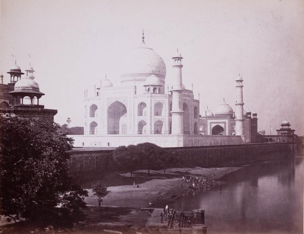 Vue du Taj Mahal 2
