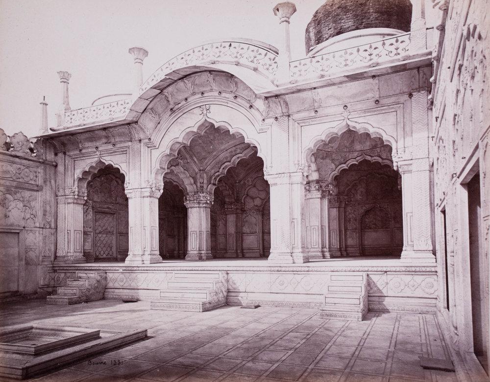 Dôme de la mosquée de la perle (Moti Masjid), Delhi