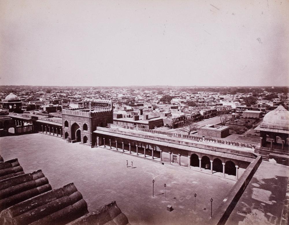 Vue générale Delhi