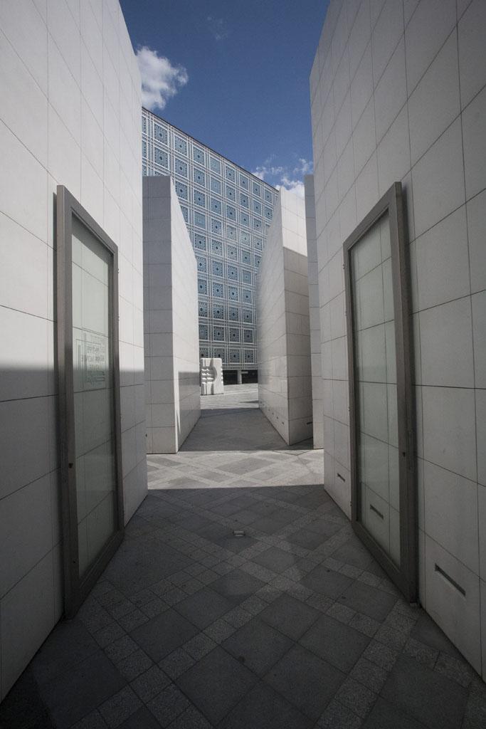 Looking towards the Islamic Centre in Paris - © Mario Julio Georgiou 2016