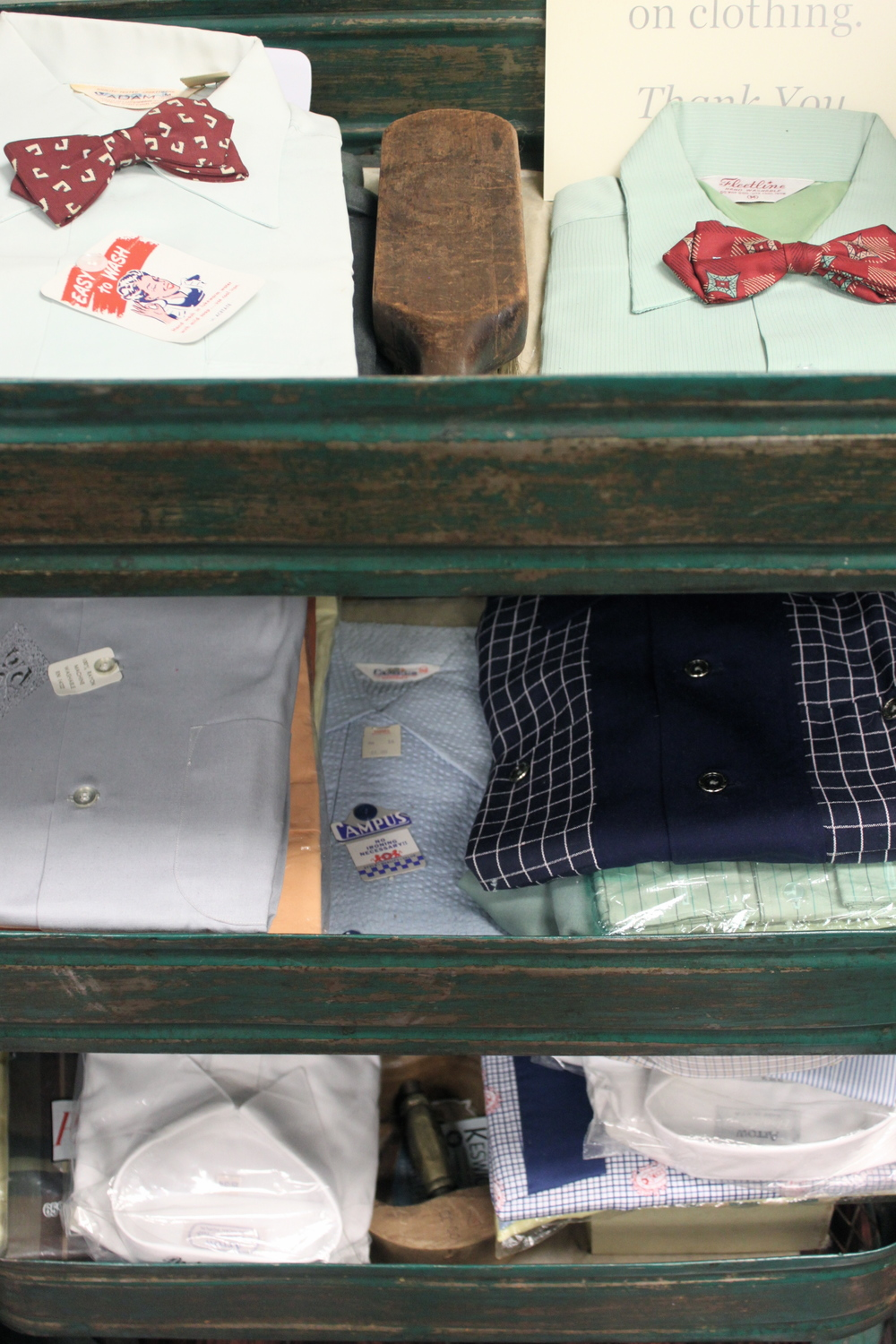 Amalgamated specializes in men's vintage. And that's a big deal, because men's vintage is very hard to find.