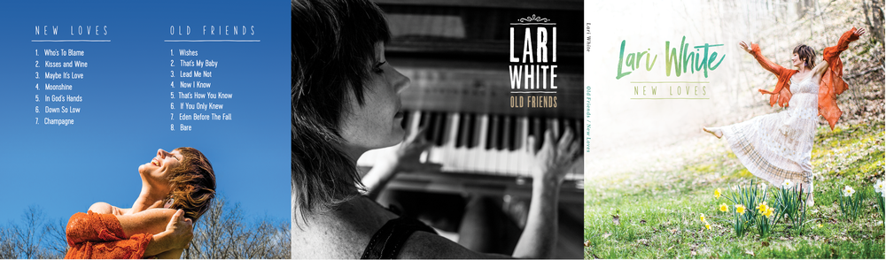 Lari White Old Friends / New Loves Double EP