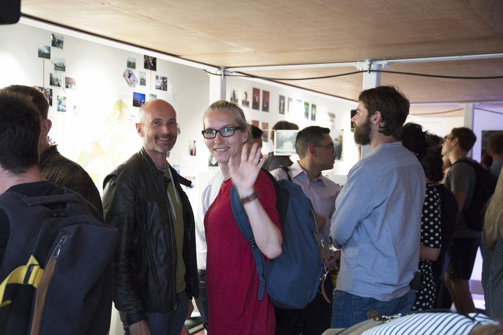Participants at Photo Scratch, Spare Street. ©Hanna-Katrina Jedrosz & Photo Scratch