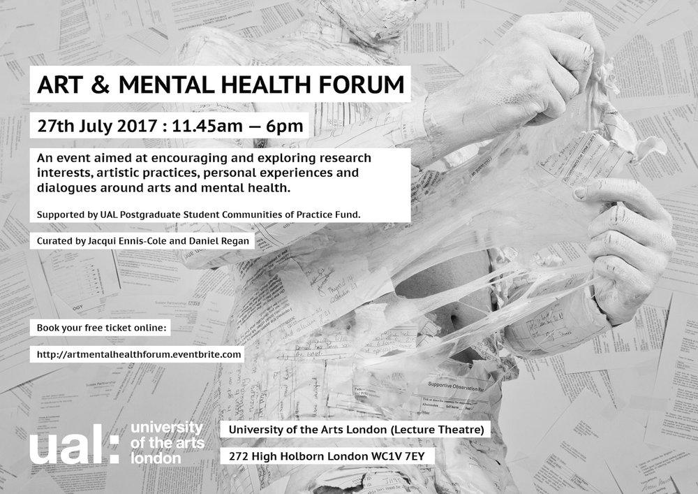 Art & Mental Health Forum Daniel Regan