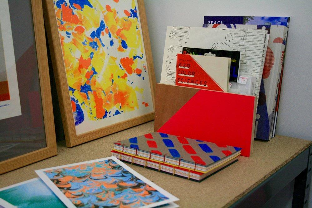 Rachel Littlewood Studio Corner