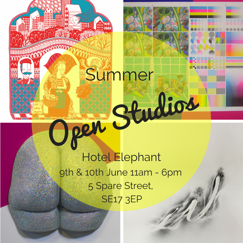 Open studios flyer image