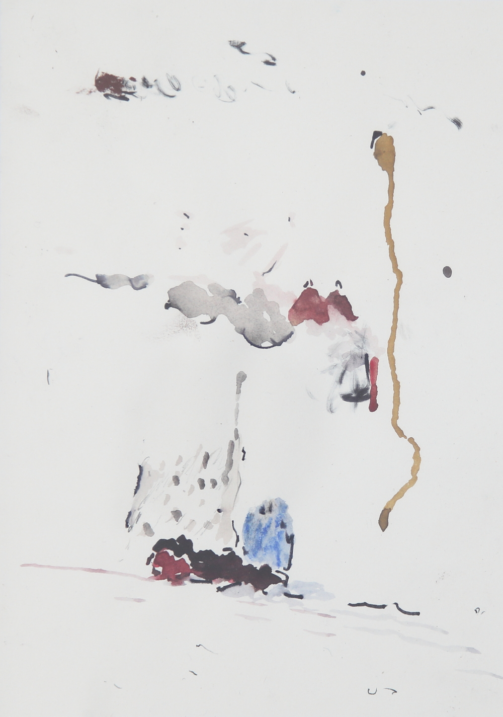 Shen Han 沈翰 No title, 2016 Watercolor on paper 14.5x21 cm