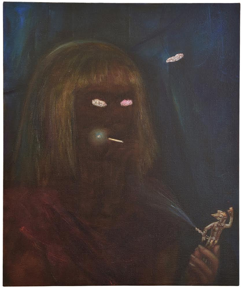Touch of Voodoo , 2014-2016, oil on linen, 60 x 50 cm
