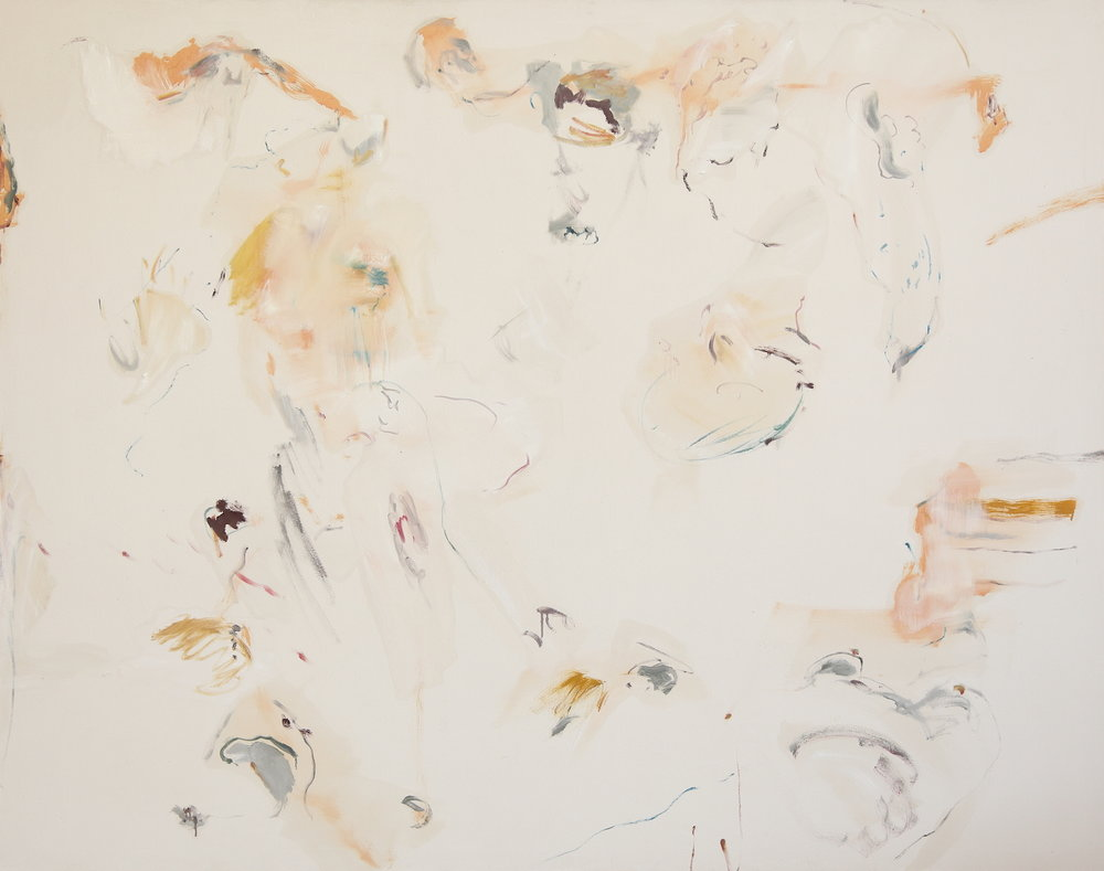 No title , 2016, Oil on canvas, 150 x 190 cm