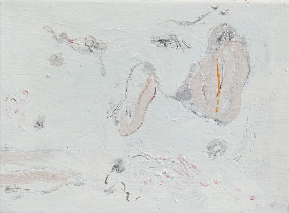 No title , 2016, Oil on canvas, 40 x 50 cm
