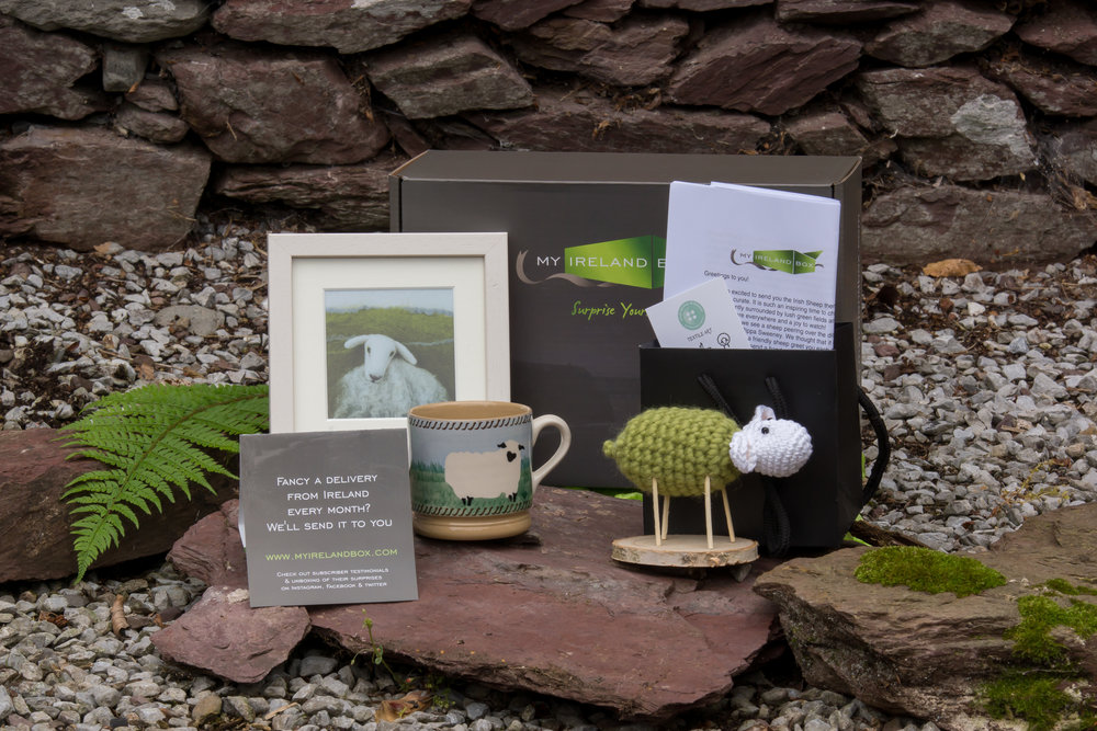 A special delivery to you from Ireland ~ artfully curated surprises that encapsulate  Irish culture and tradition   GET YOUR MYIRELANDBOX