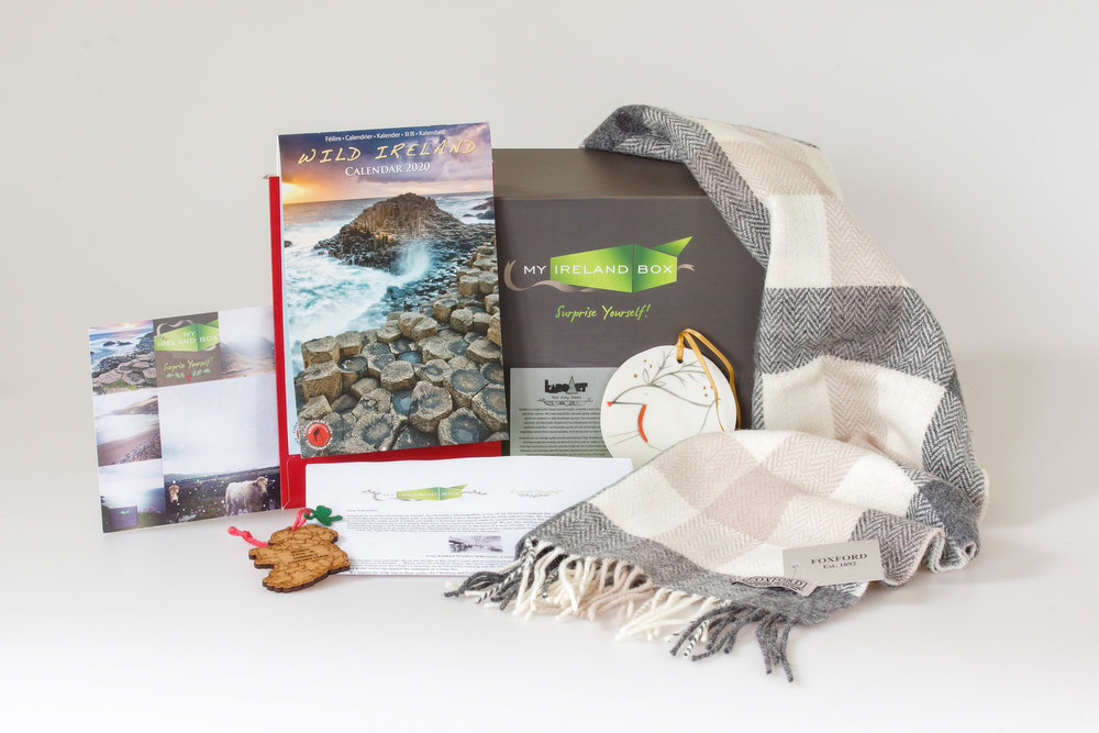 My Ireland Box offers uniquely curated gift boxes from Irelands favourite artisans delivered to you - or to someone dear to you – every month