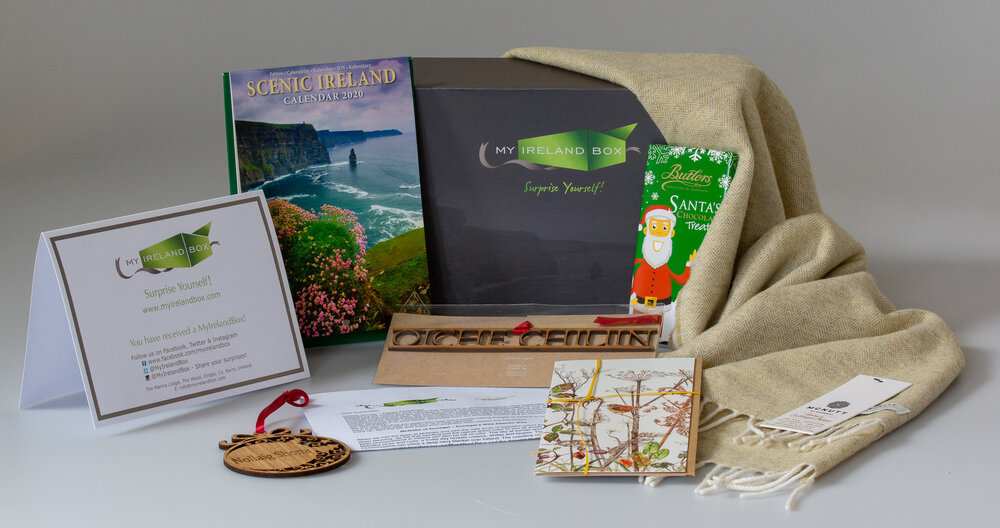 A monthly subscription box for those who love Ireland   SUBSCRIBE NOW