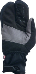 The Pearl Izumi P.R.O. AmFib Lobster Glove keeps fingers together, and very warm.