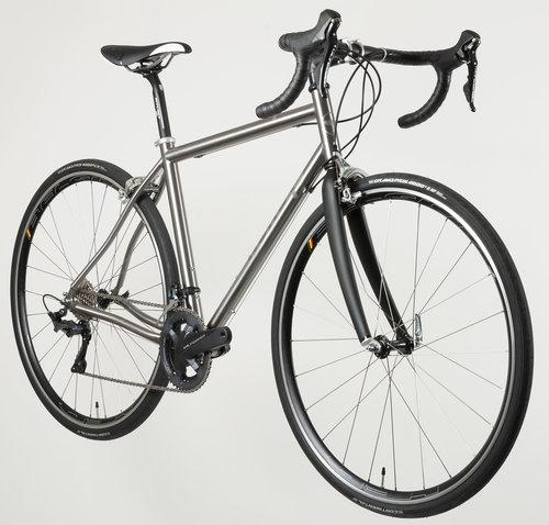 Honey MidDurance Titanium Bike