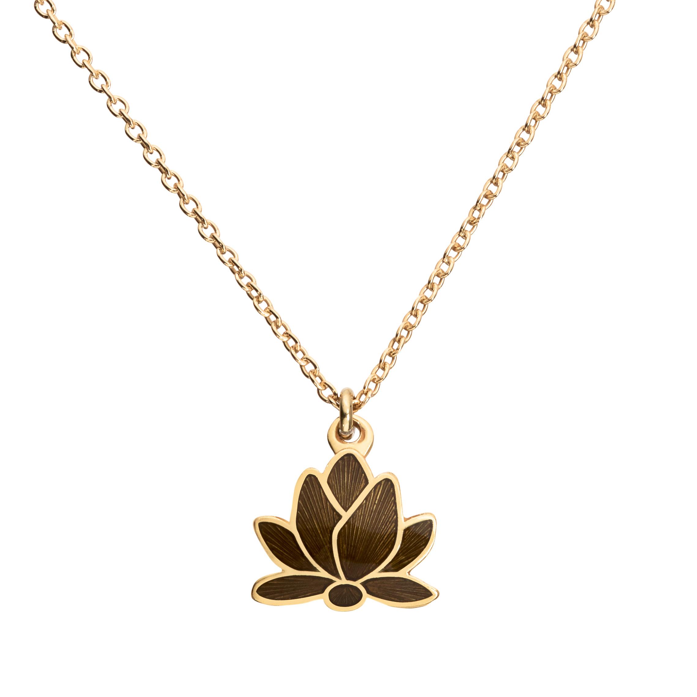 Lotus Flower Necklace Mani Kamini