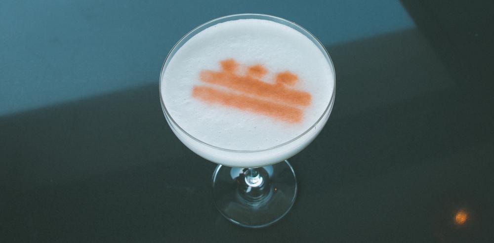 Cocktail made at citybar dc