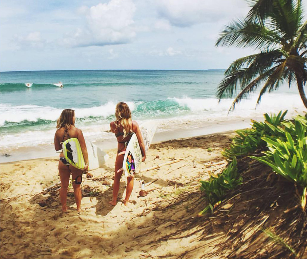 Sharpen your surfing skills in beautiful Rincon, Puerto Rico! Photo by Guy Barnhart.