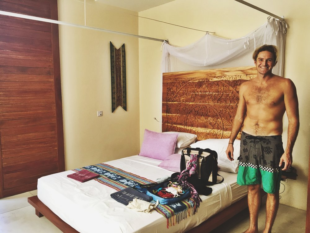 Our room at Bed by the Sea. Echo Beach, Canggu.