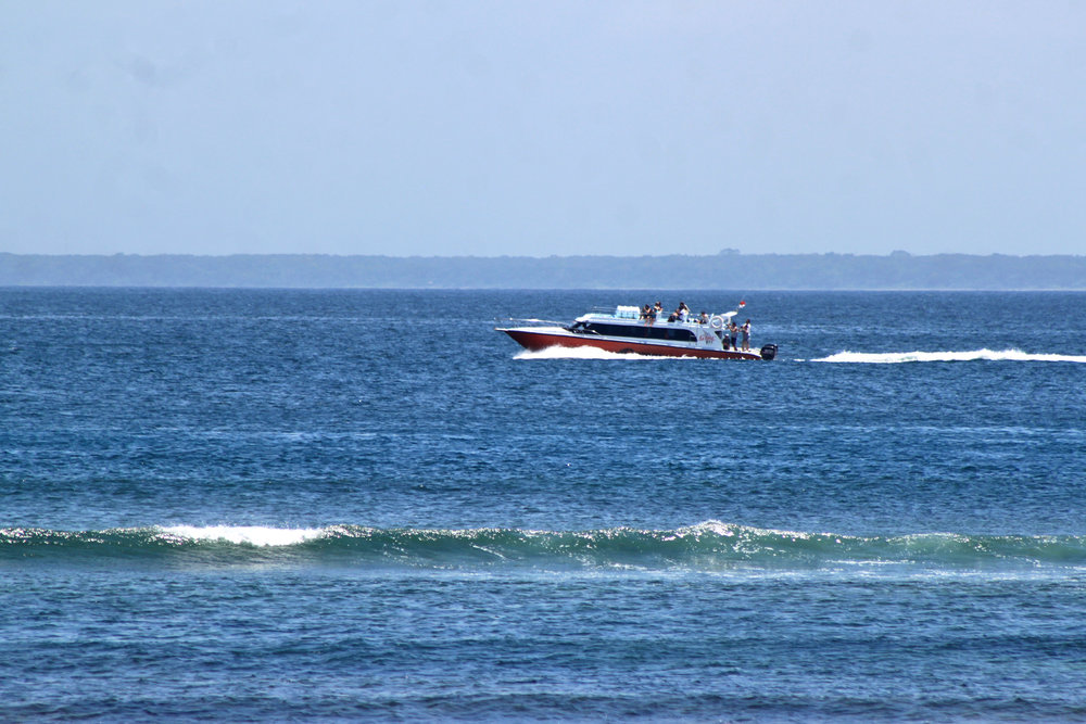 "The ""G-Force"" Fast Boat to Bali"