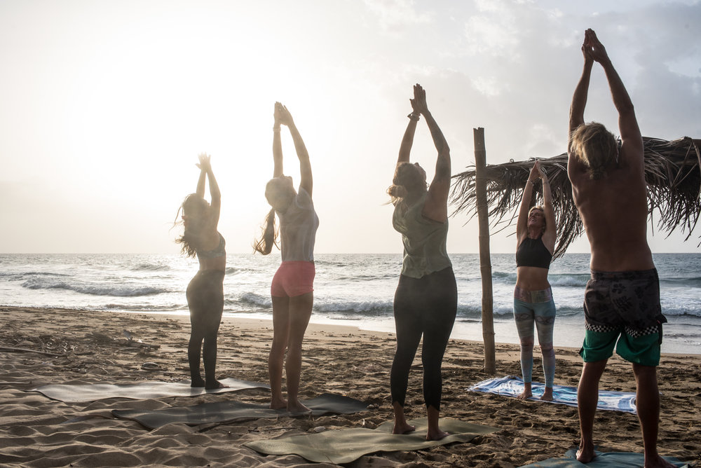 Wake up and salute the sun! Infuse this new season with positive, intentional energy. // Photo by Frances Davis Furr