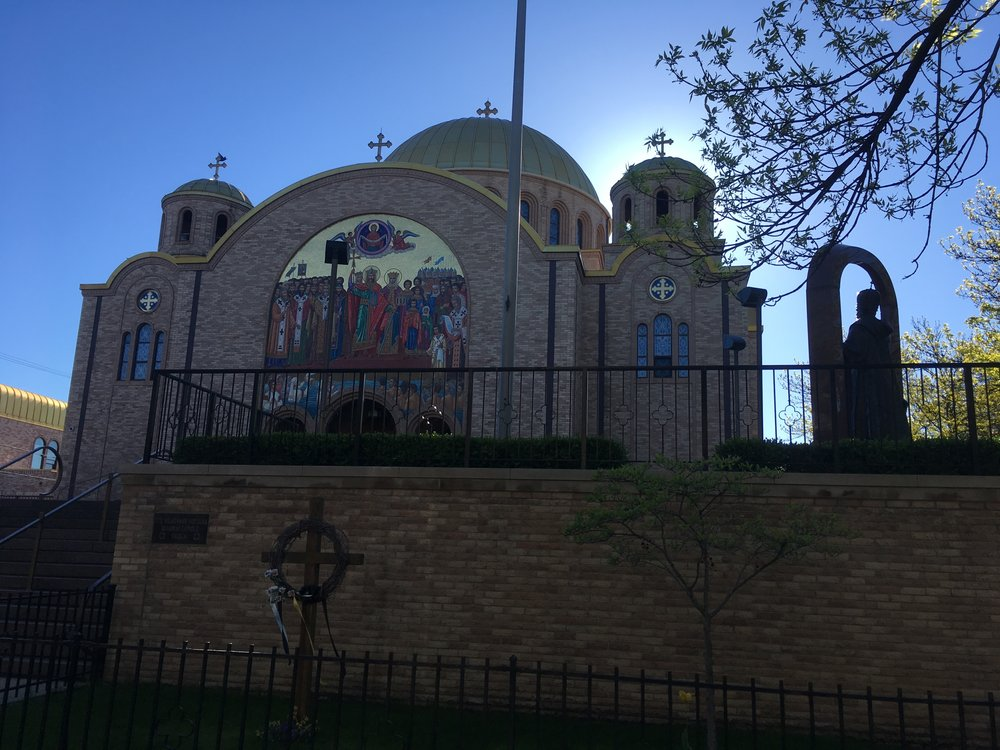 There were so many churches within such a small area. Ukrainian Catholic and Orthodox churches all along the way.