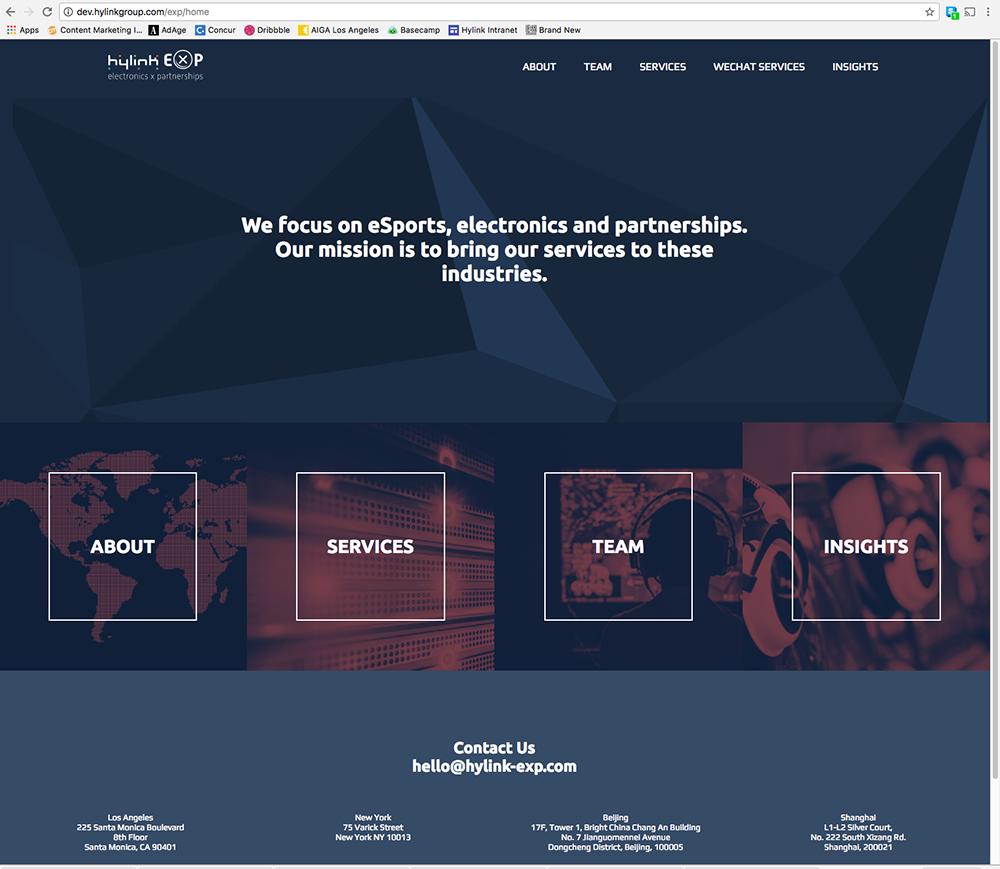 EXP Homepage